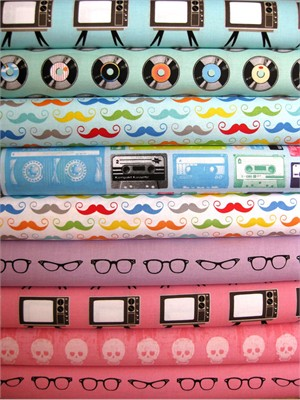 Amy Adams, Geekly Chic, Squeeky Pop in FAT QUARTERS 9 Total