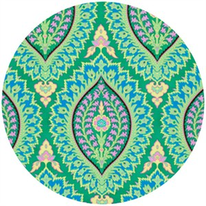 Amy Butler, Alchemy, Quilt Cottons, Imperial Paisley Emerald