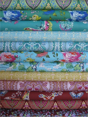 Amy Butler, Alchemy Quilt Cottons in FAT QUARTERS, 12 Total