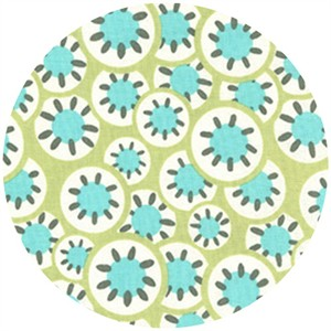 Amy Butler, Daisy Chain, Kaleidoscope Dots Leaf