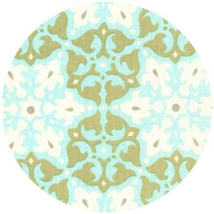 Amy Butler, Daisy Chain, Mosaic Olive