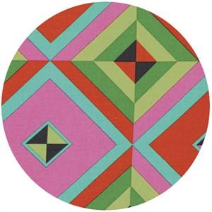Amy Butler, Hapi, LINEN, Sky Pyramid Caramel