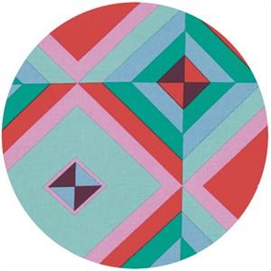Amy Butler, Hapi, LINEN, Sky Pyramid Melon