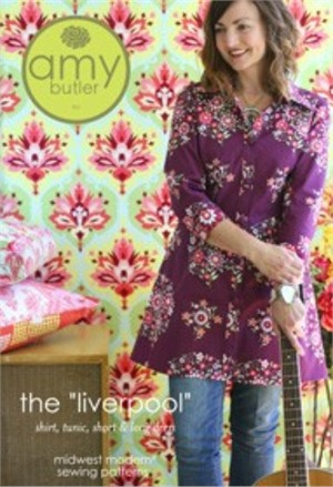 Amy Butler Sewing Pattern,  Liverpool Tunic/Dress