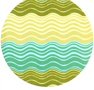 Amy Butler, Midwest Modern, Ripple Stripe Green