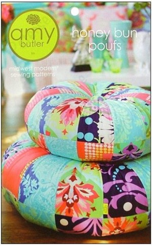 Amy Butler Sewing Pattern, Honey Bun Pouf