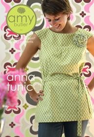 Amy Butler Sewing Pattern, Anna Tunic