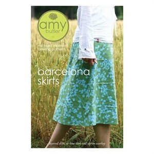 Amy Butler Sewing Pattern, Barcelona Skirt