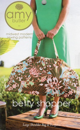 Amy Butler Sewing Pattern, Betty Shopper