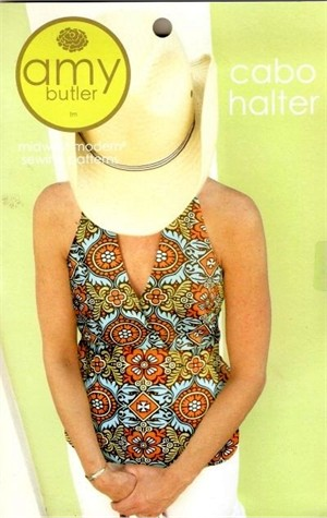 Amy Butler Sewing Pattern, Cabo Halter