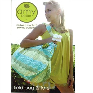 Amy Butler Sewing Pattern, Field Bag & Tote