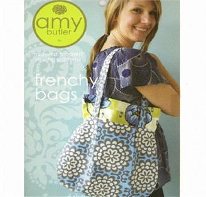 Amy Butler Sewing Pattern, Frenchy Bags