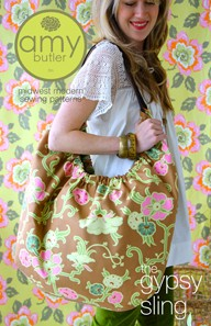 Amy Butler Sewing Patterns, Gypsy Sling Bag