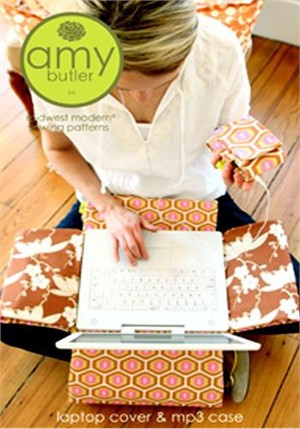Amy Butler Sewing Pattern, Laptop Cover & MP3 Case