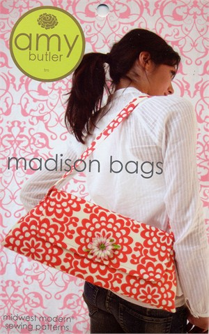 Amy Butler Sewing Pattern, Madison Bags