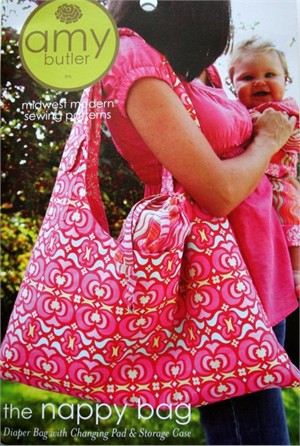 Amy Butler Sewing Pattern, The Nappy Bag
