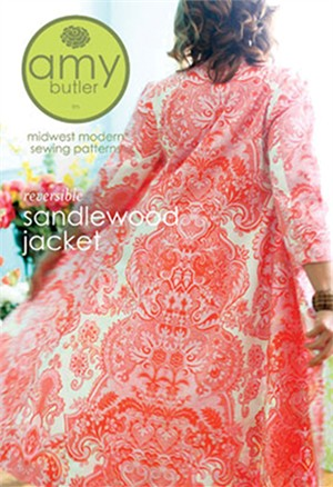 Amy Butler Sewing Pattern, Reversible Sandlewood Jacket