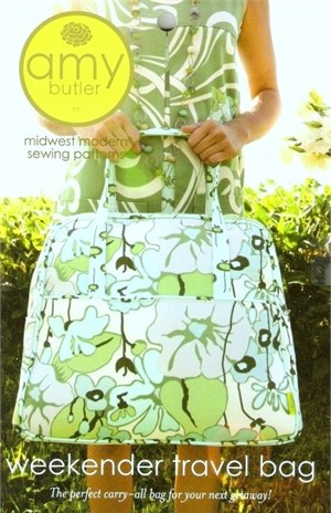Amy Butler Sewing Pattern, Weekender Travel Bag