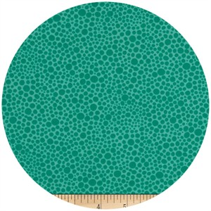 A.E. Nathan Co., Quiltology, Abstract Dot Turquoise