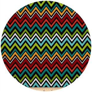 A.E. Nathan Co., Quiltology, Chevron Black/Multi