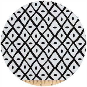 A.E. Nathan Co., Quiltology, Dotted Lattice Black