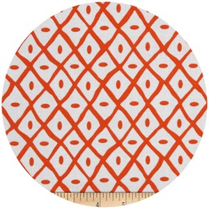 A.E. Nathan Co., Quiltology, Dotted Lattice Orange