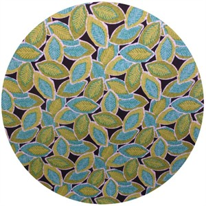 A.E. Nathan Co., Quiltology, Leaves Green/Turquoise