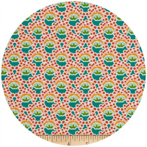 A.E. Nathan Co., Quiltology, Small Floral Turquoise