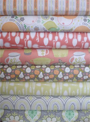 Ana Davis, Clementine, Warm in FAT QUARTERS 8 Total