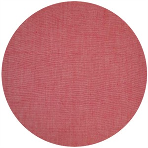 Andover Fabrics, Chambray Solids, Coral