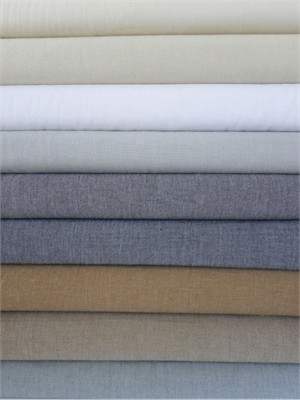 Andover Fabrics, Chambray Solids, Neutral FAT QUARTERS 9 in Total