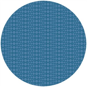 Andover Fabrics, The Color Collection, Geometric Circling Blue