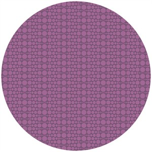 Andover Fabrics, The Color Collection, Geometric Circling Purple
