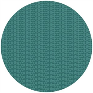 Andover Fabrics, The Color Collection, Geometric Circling Turquoise