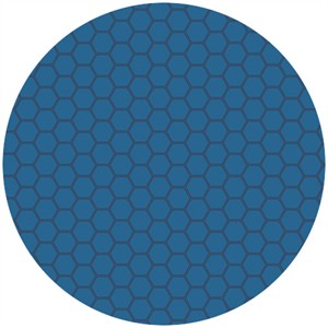 Andover Fabrics, The Color Collection, Honeycomb Blue