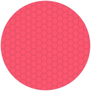 Andover Fabrics, The Color Collection, Honeycomb Bright Pink