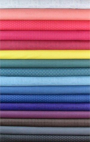 Andover Fabrics, The Color Collection in FAT QUARTERS 13 Total (PRE-CUT)