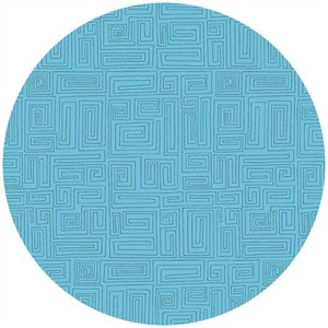 Andover Fabrics, The Color Collection, A Maze Azure