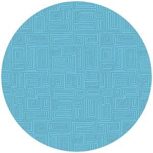 Andover Fabrics, The Color Collection, A Maze Azure
