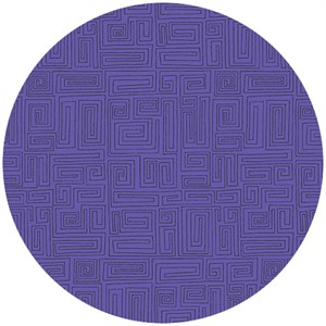 Andover Fabrics, The Color Collection, A Maze Grape
