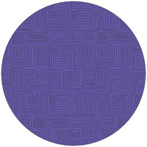 Andover Fabrics, The Color Collection, A Maze Grape