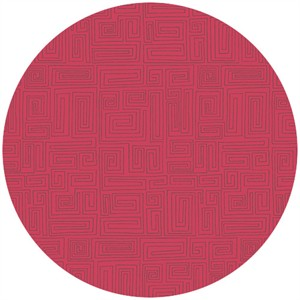 Andover Fabrics, The Color Collection, A Maze Raspberry