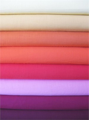 Andover Fabrics, Textured Solids, Bright in Fat Quarters, 8 Total