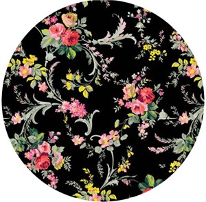 Anna Griffin, Grace, Scroll Floral Black