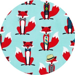 Andie Hanna, Fox and the Houndstooth, Dapper Foxes Aqua