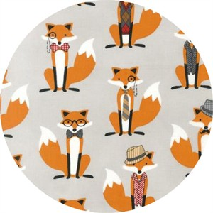 Andie Hanna, Fox and the Houndstooth, Dapper Foxes Grey