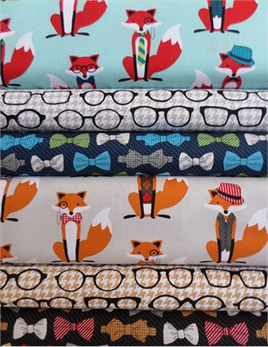 Andie Hanna, Fox and the Houndstooth in FAT QUARTERS 5 Total