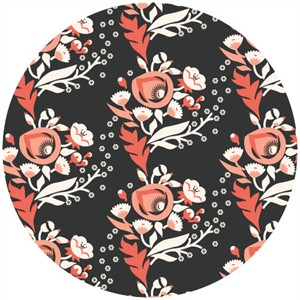 Aneela Hoey for Cloud9, ORGANIC, Vignette, Poppy Pink