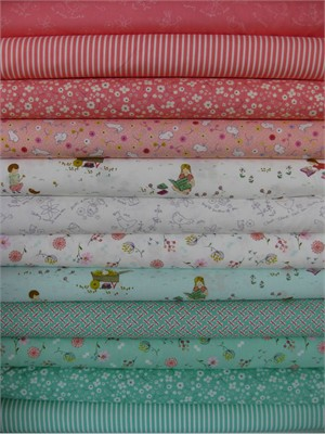 Aneela Hoey, Posy in FAT QUARTERS 11 Total
