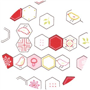 Aneela Hoey, Sew Stitchy, Hexagons Cotton